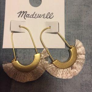Jewelry - Madewell sliver fringe earring
